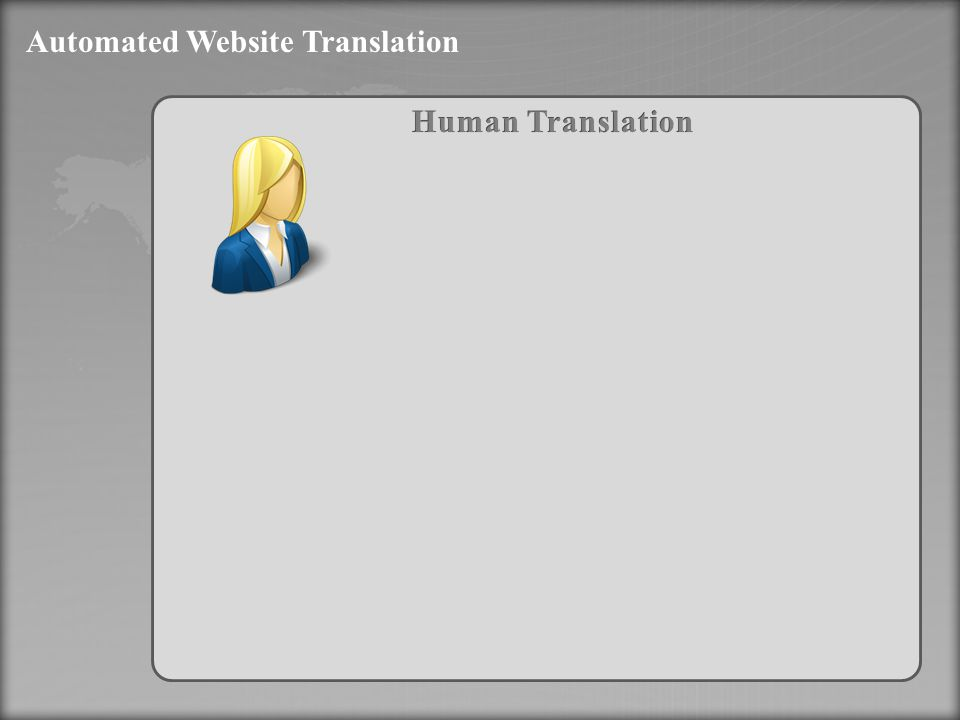 Automated Website Translation