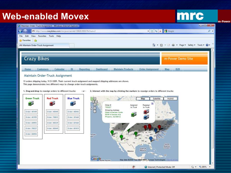 Enhancing Movex / M3 with Smartphone Apps