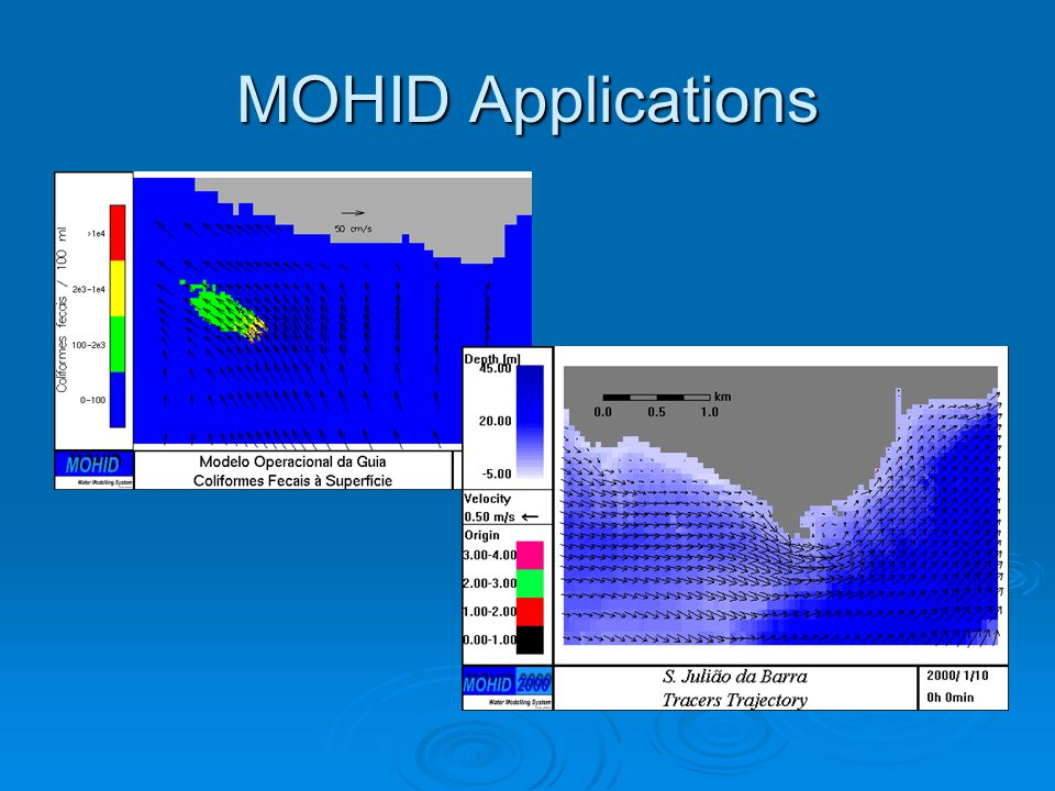 MOHID Applications