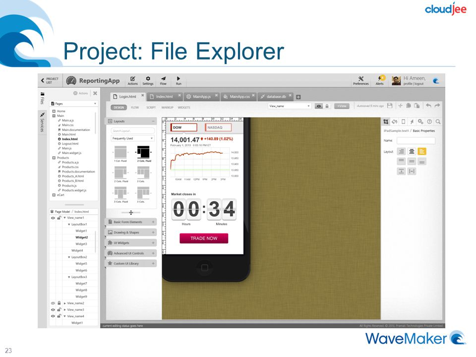 Project: File Explorer 23