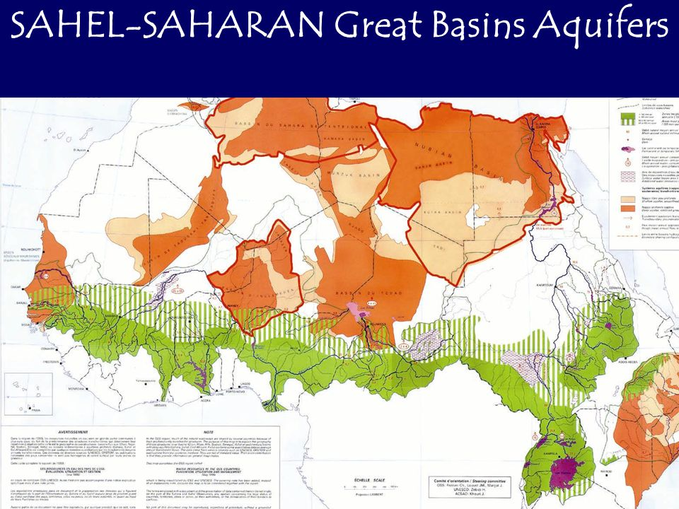 NORTH WESTERN SAHARA AQUIFER SYSTEM SAHARA AND SAHEL OBSERVATORY
