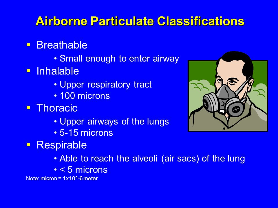 1910.134(a)(2) Employers responsibilities  Respirators: Provided by the employer Must provide the respirators which are applicable and suitable for the purpose intended The employer is responsible for the establishment and maintenance of a respiratory protection program
