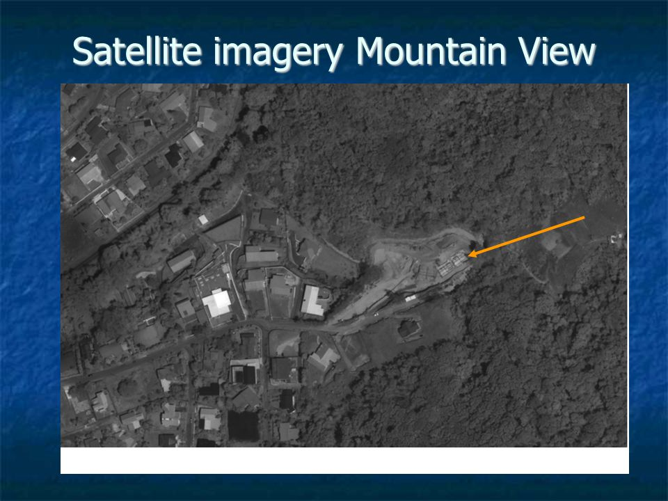 Satellite imagery Mountain View