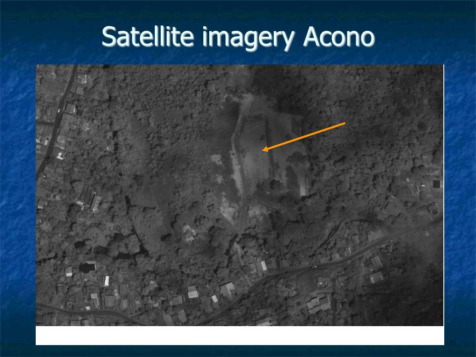 Satellite imagery Acono