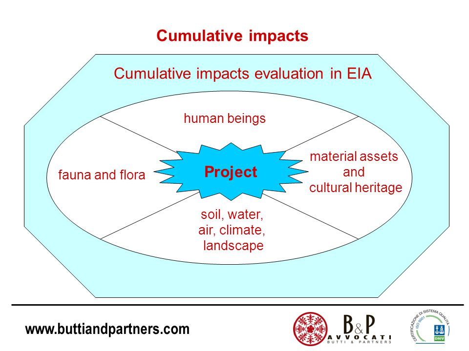 www.buttiandpartners.com ECJ's (European Court of Justice) decisions on EIA: questions and answers Is it possible to extend the EIA to projects that have transboundary effects.
