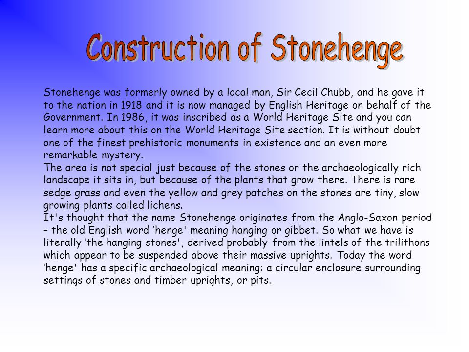 Then about 4,500 years ago – 2,500 BC and about 2,400 years before the Romans set foot in Britain, it was rebuilt. This time in stone, bluestones were