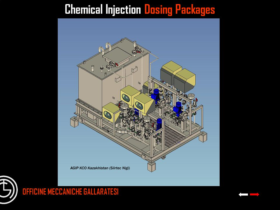 Chemical Injection Dosing Packages OFFICINE MECCANICHE GALLARATESI