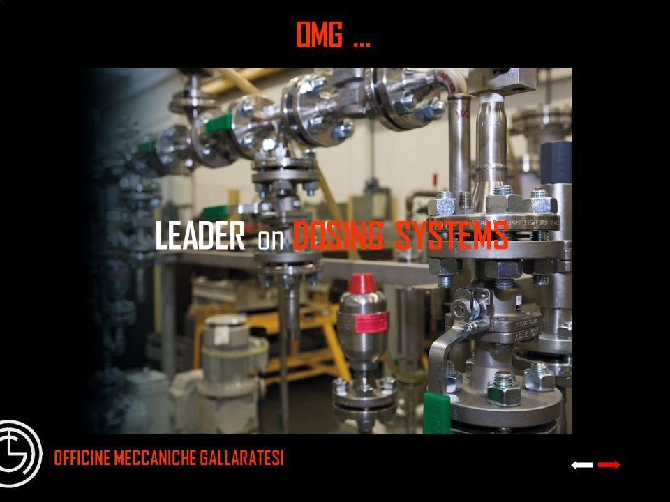 LEADER on DOSING SYSTEMS OMG … OFFICINE MECCANICHE GALLARATESI