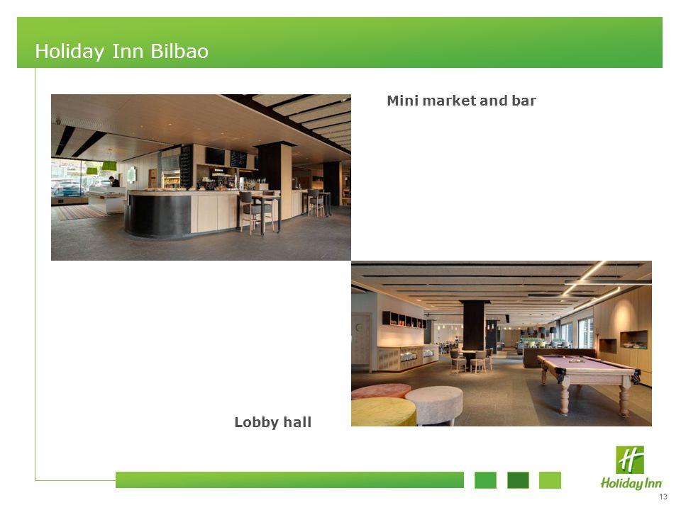 13 Holiday Inn Bilbao Mini market and bar Lobby hall