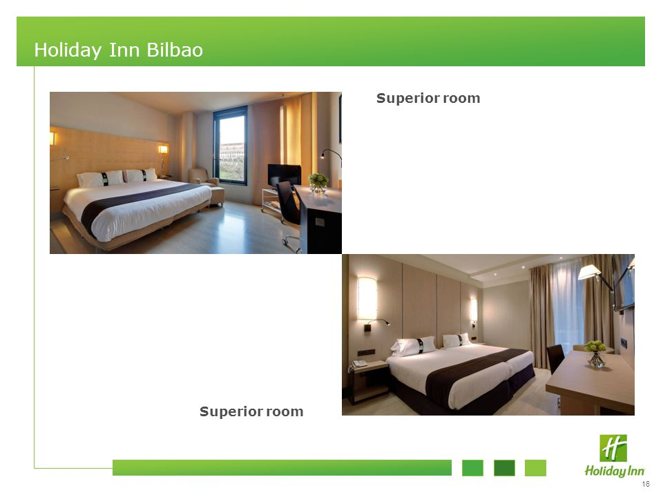 16 Holiday Inn Bilbao Superior room