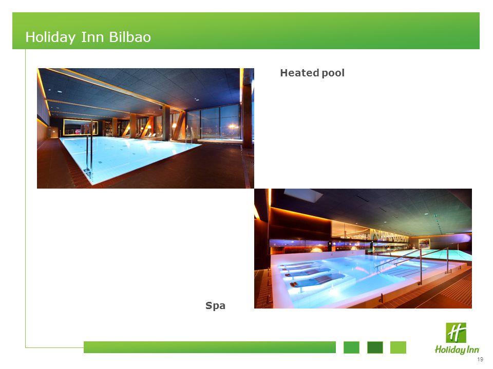 19 Holiday Inn Bilbao Heated pool Spa