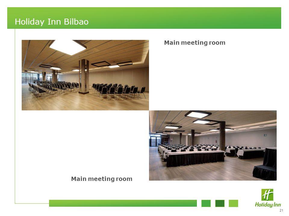 21 Holiday Inn Bilbao Main meeting room