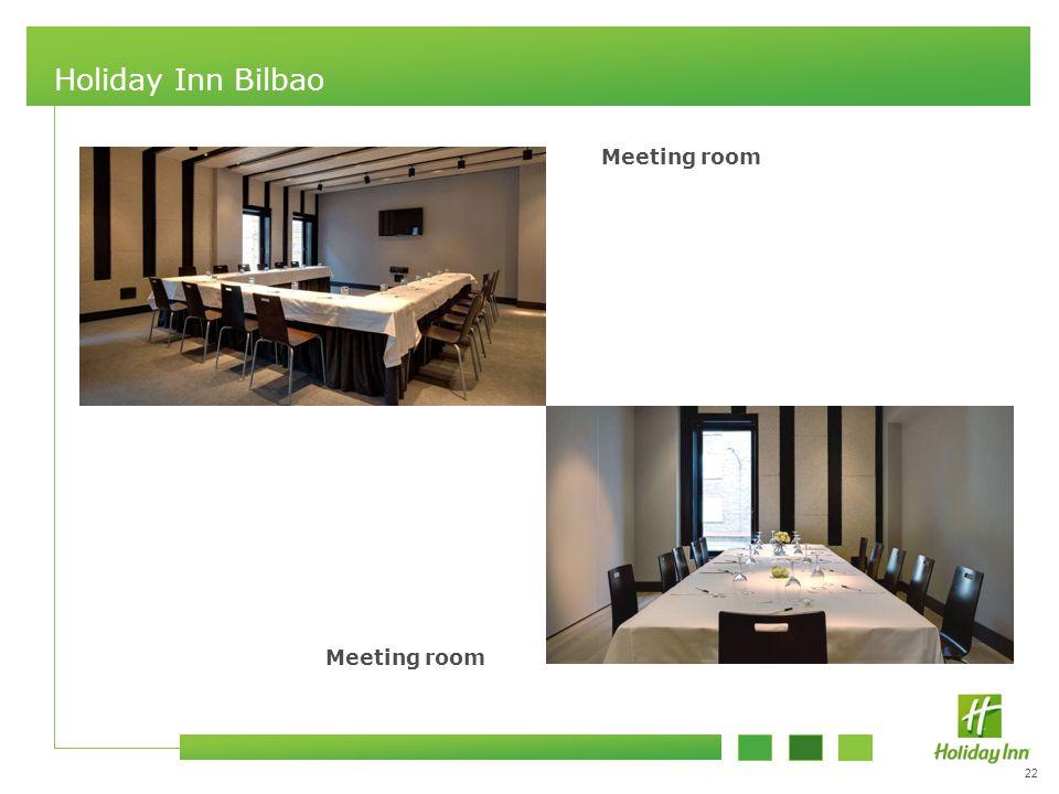 22 Holiday Inn Bilbao Meeting room
