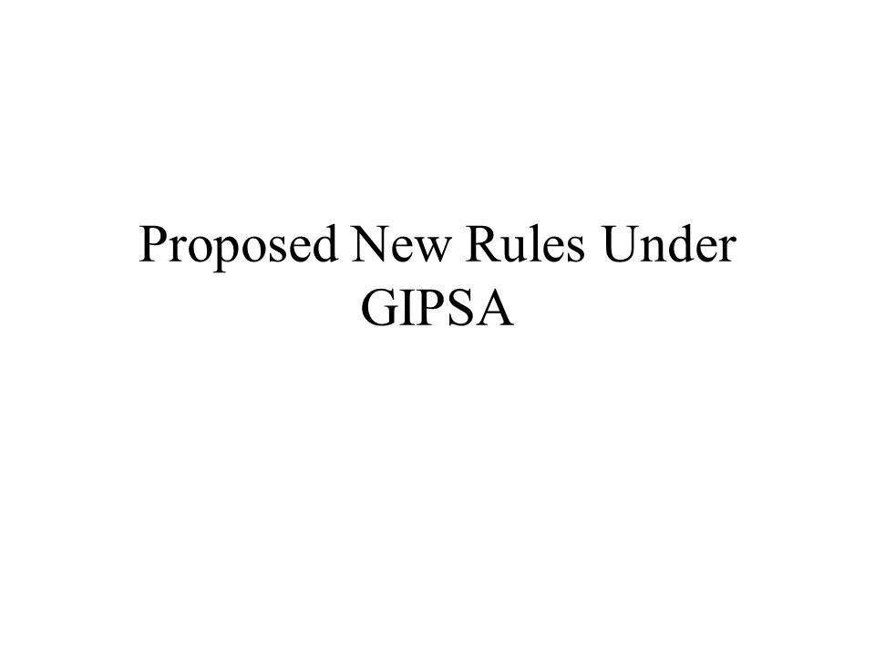 Proposed New Rules Under GIPSA
