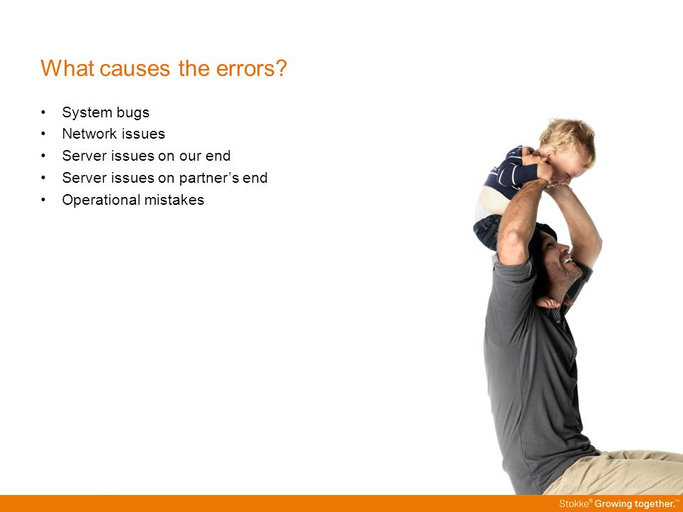 What causes the errors.