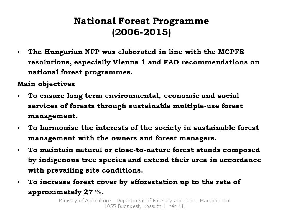 8.4 Forest potential – restoration (Carrying-on 2007-2013 system) Eligibility criteria: 50% damage Selection criteria (if necessary to introduce): a) Major risk of fire, b) Higher grade of preventive function or natural value of the stand at risk, c) Restoration is planned with stand of higher grade of naturality than the obligation.
