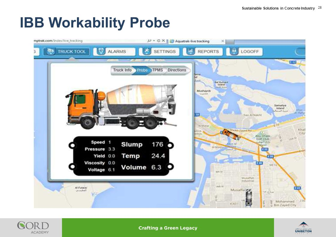 Sustainable Solutions in Concrete Industry 28 IBB Workability Probe