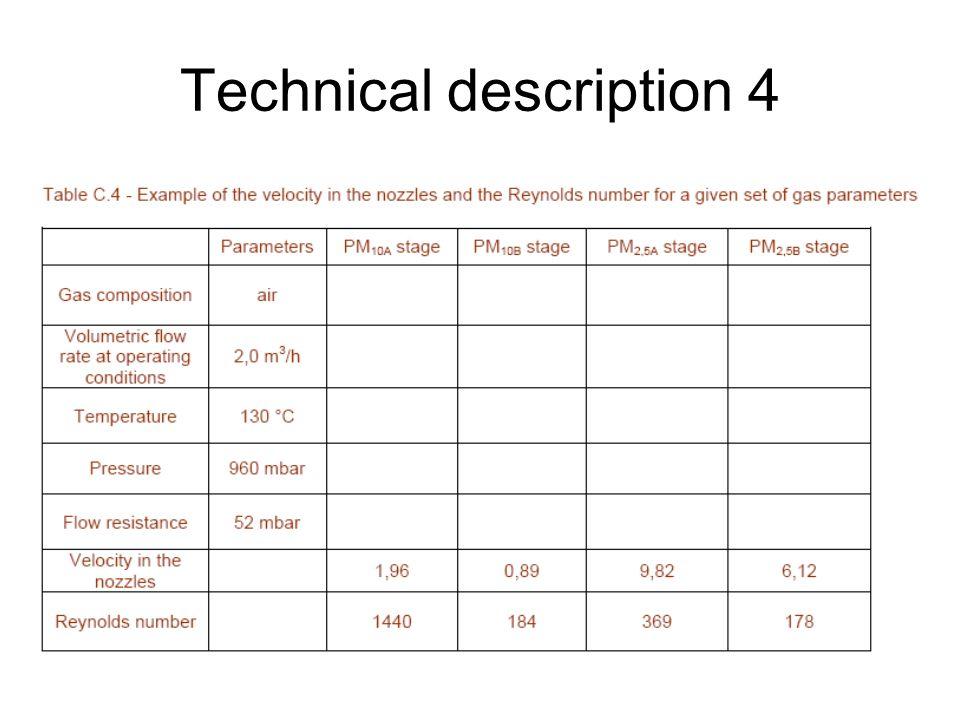 Technical description 4