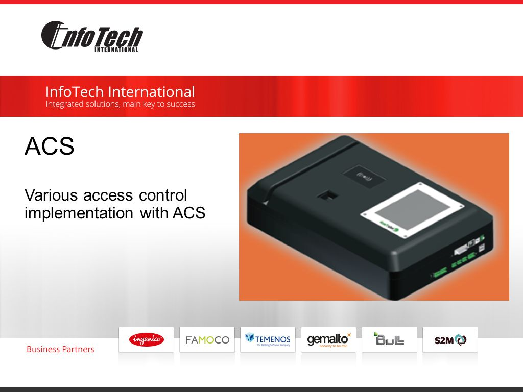 ACS Various access control implementation with ACS