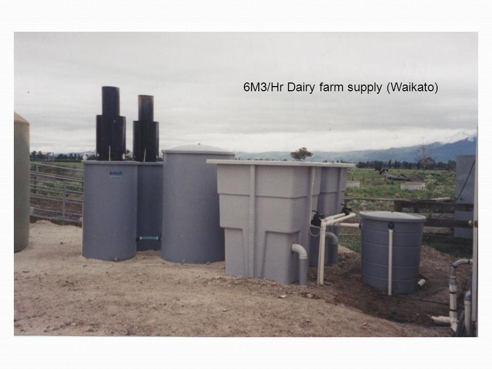 6M3/Hr Dairy farm supply (Waikato)