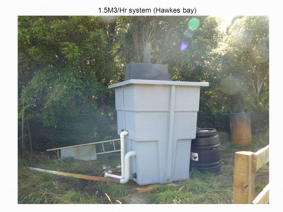 1.5M3/Hr system (Hawkes bay)