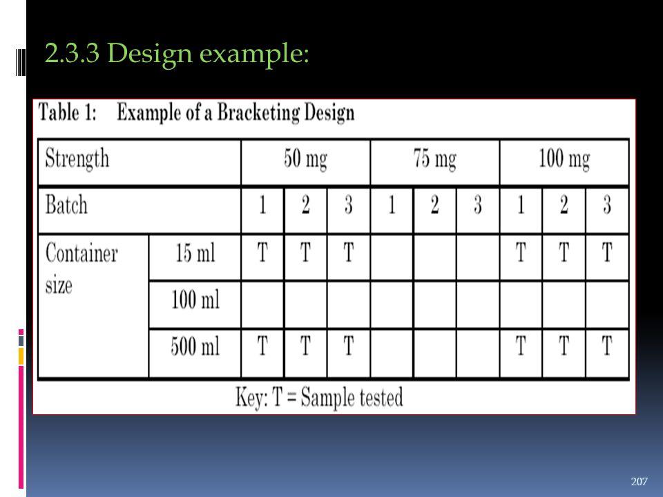 2.3.3 Design example: 207