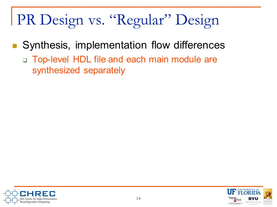 14 PR Design vs.
