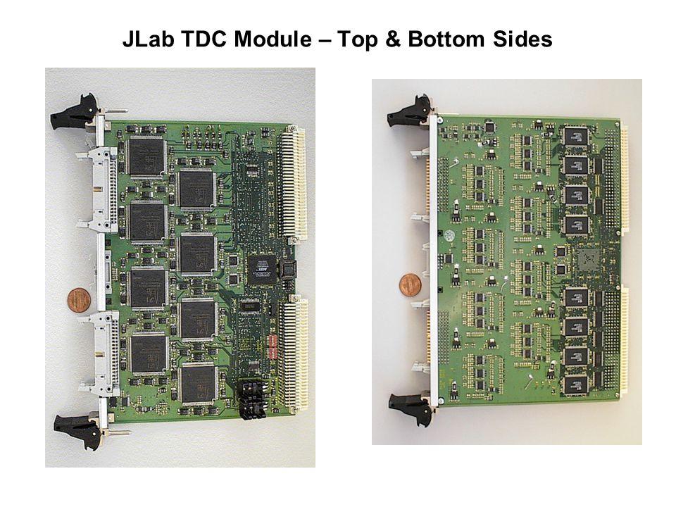 JLab TDC Module – Top & Bottom Sides