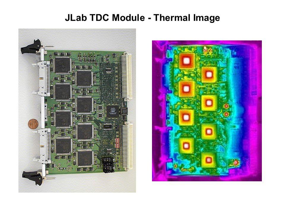 JLab TDC Module - Thermal Image