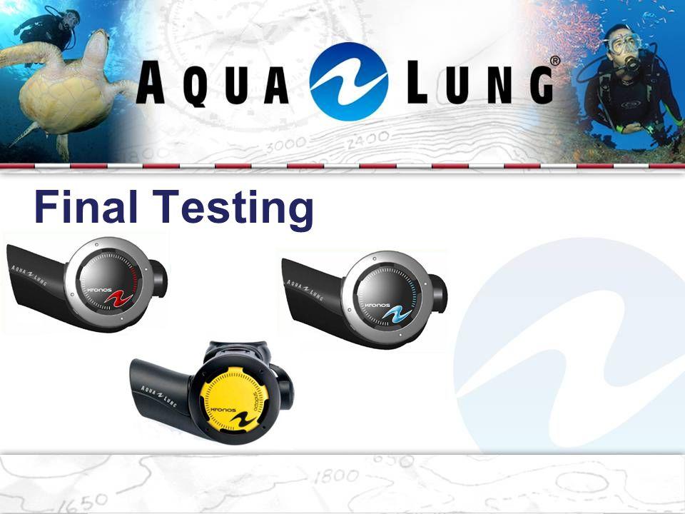 Final Testing