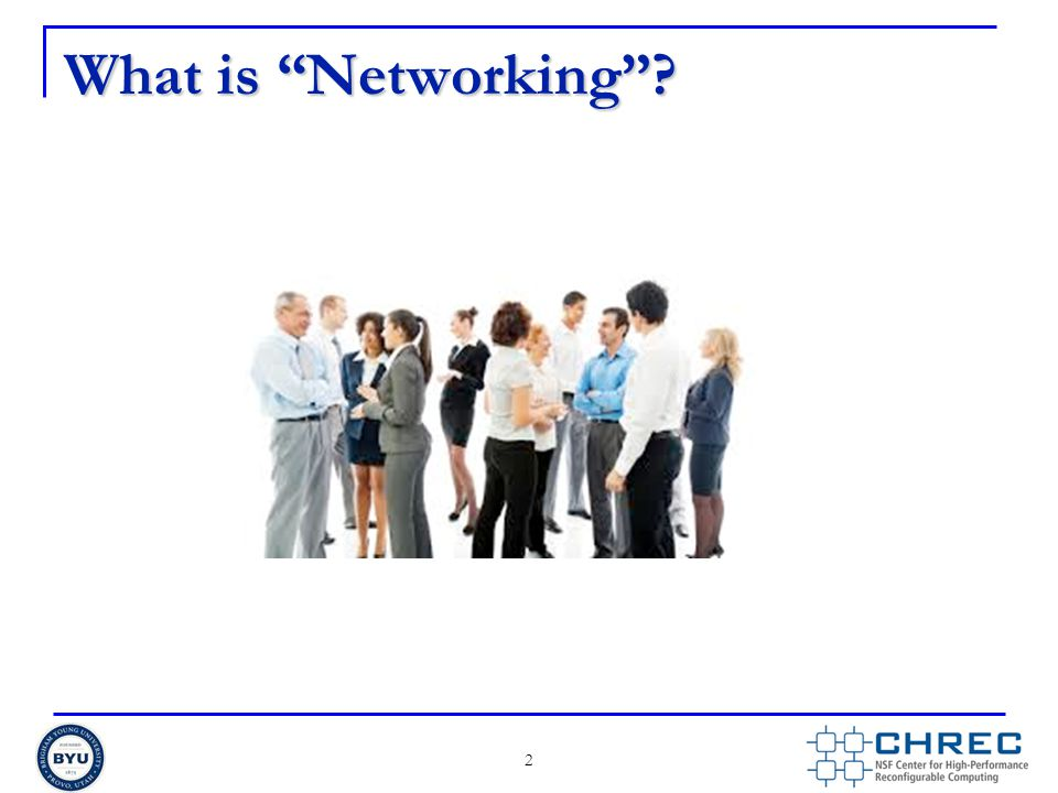 What is Networking ? 2