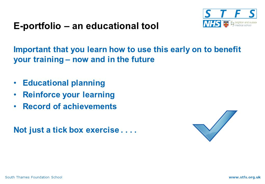 South Thames Foundation Schoolwww.stfs.org.uk And if I am not signed off.