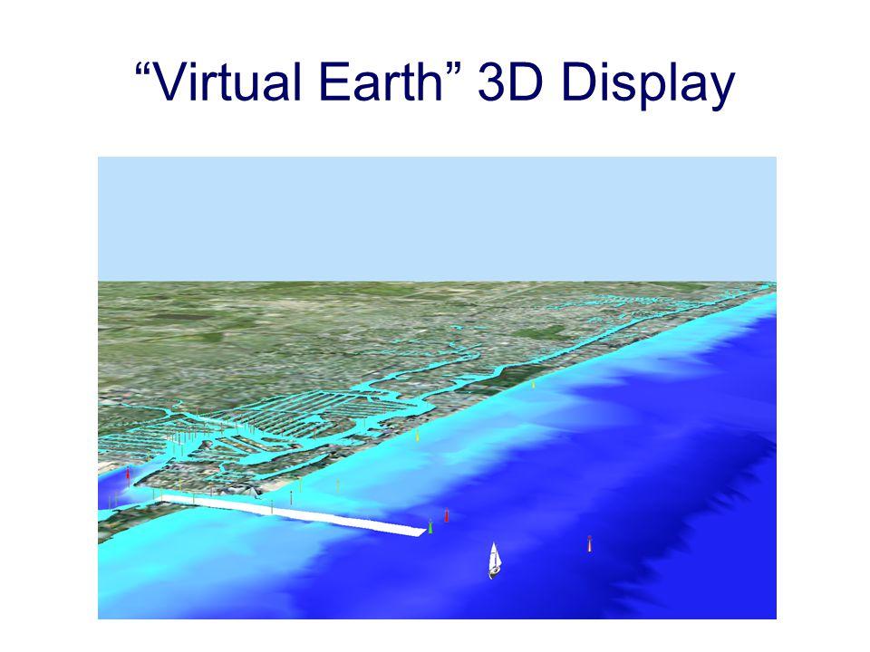 Virtual Earth 3D Display