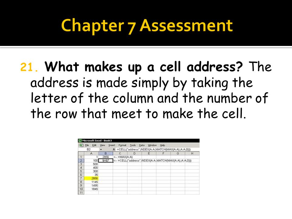 20. You can move data from one cell to another by dragging it. True