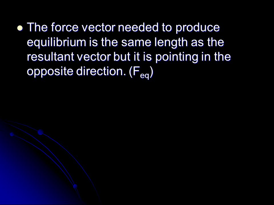 Force vector components A person is pulling a sled with a 100- newton force at a 30° angle with the horizontal.