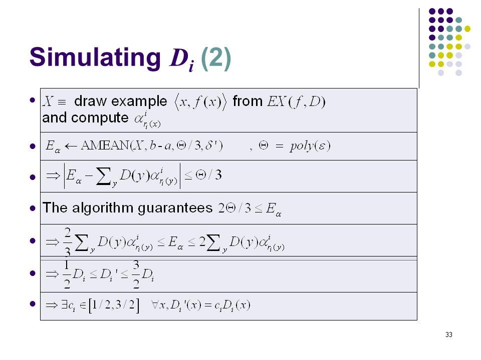 33 Simulating D i (2).