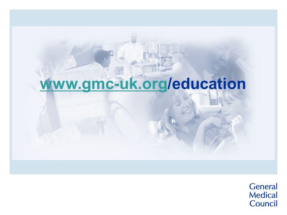 www.gmc-uk.orgwww.gmc-uk.org/education