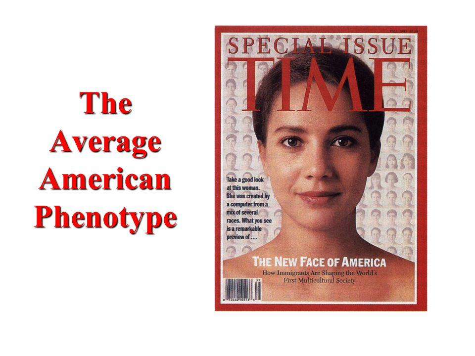 The Average American Phenotype