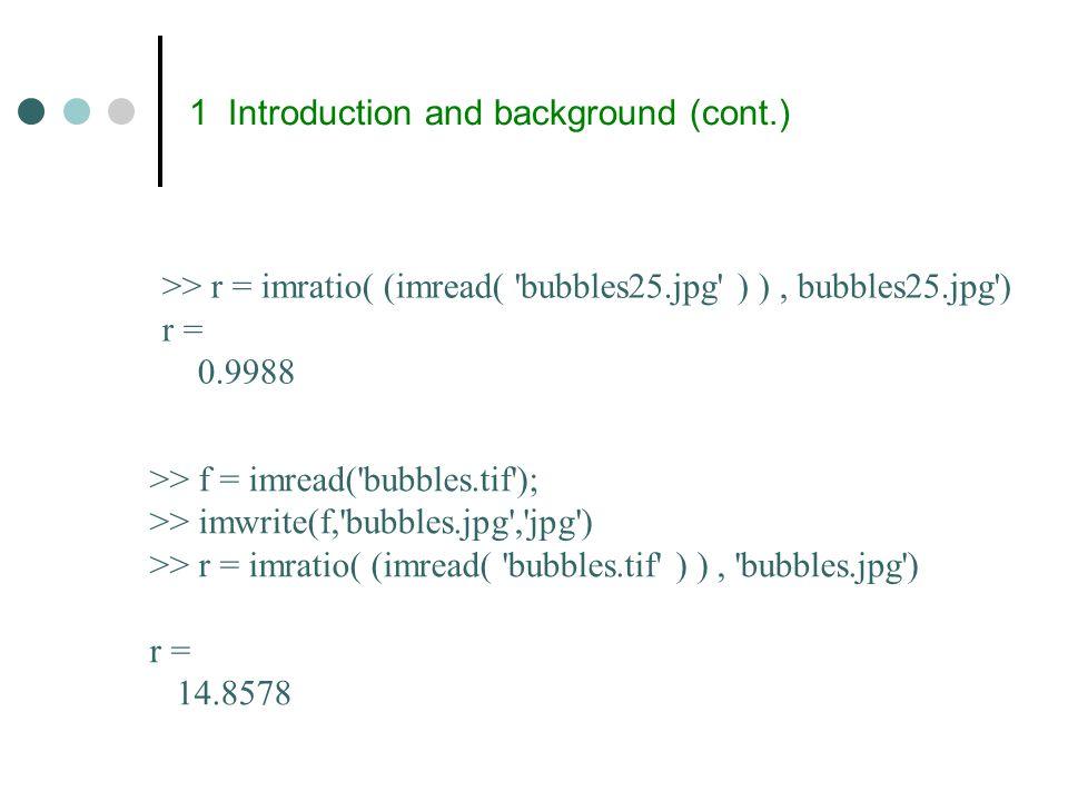 Interpixel redundancy (cont.) Various methods can be used to generate.