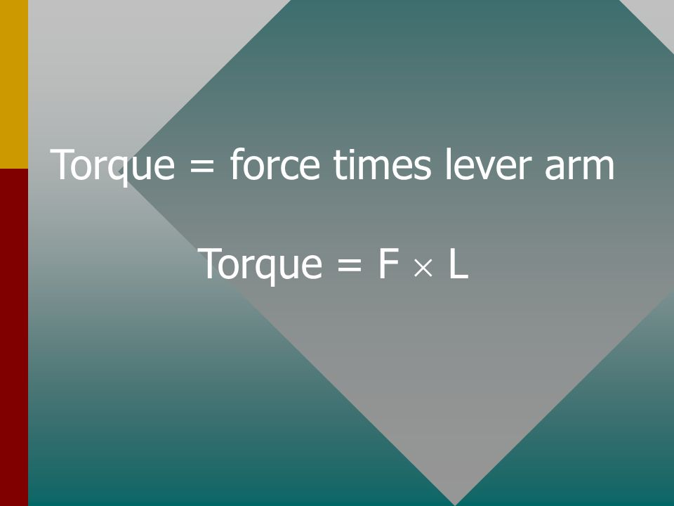 TORQUE To make an object rotate, a force must be applied in the right place.To make an object rotate, a force must be applied in the right place.