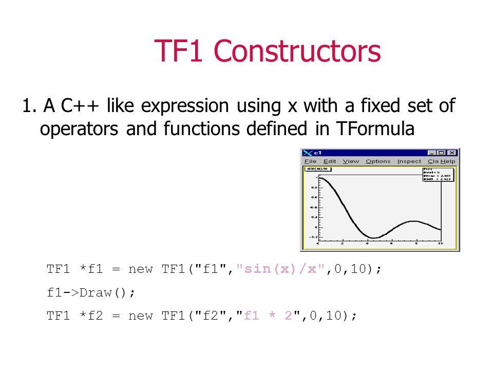 TF1 Constructors 1.