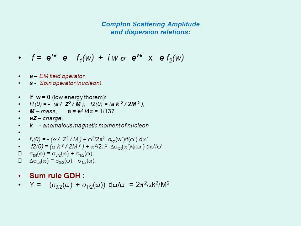Compton Back Scattering Method Laser (hw = 2.34 эВ) Gamma beam Electron beam Е = 140 МeV Е = 2.5 GeV Be Mirror Intensity (gammas/s): Argon (UV) 10 7 СО 2 (IR) 10 10 FEL 10 12 Recirculation 10 15