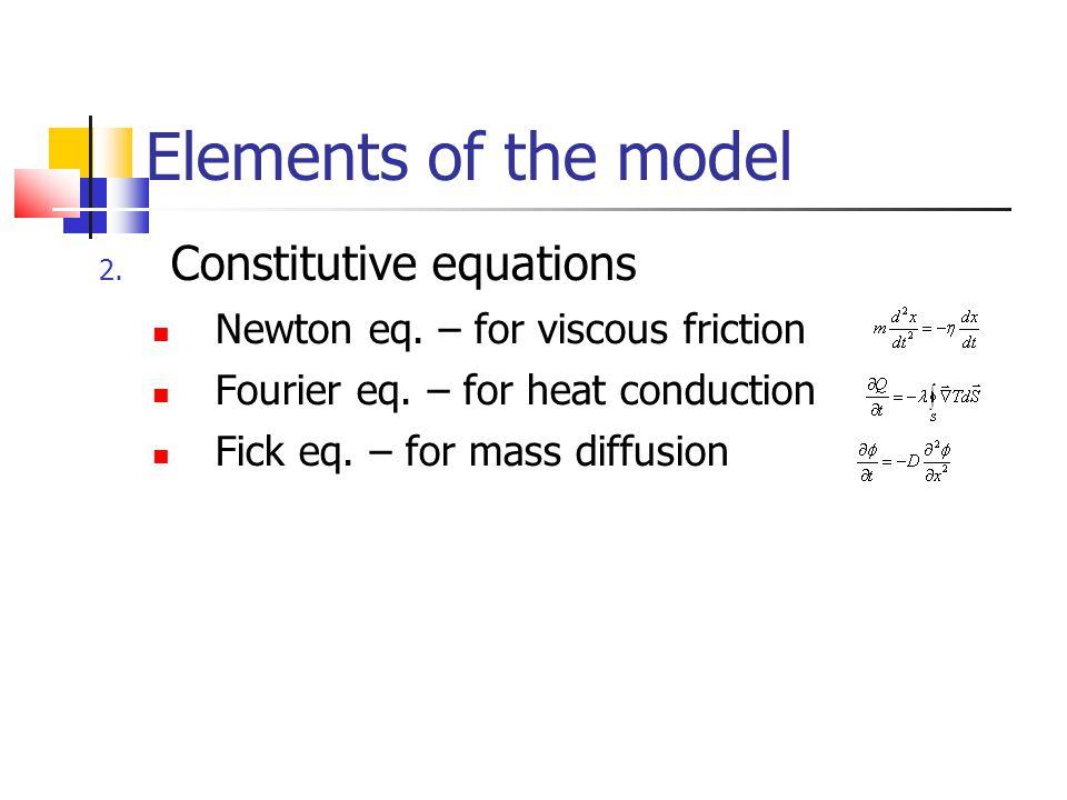 Agents parameters Temperatures are not constant Liquid properties are functions of temperature Specyfic heat c p Viscosity  Density  Thermal conductivity Prandtl number Pr