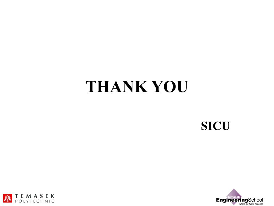 THANK YOU SICU