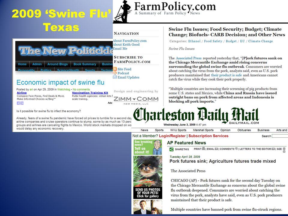 2009 'Swine Flu' Texas