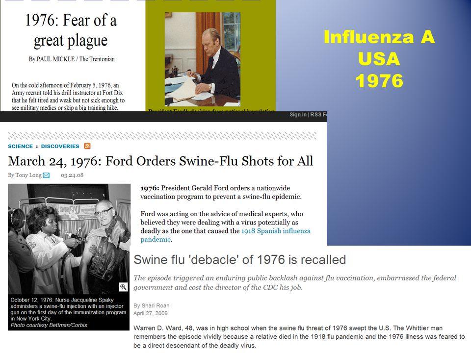 Influenza A USA 1976