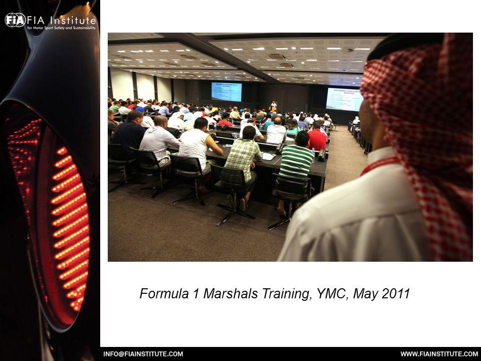 Formula 1 Marshals Training, YMC, May 2011