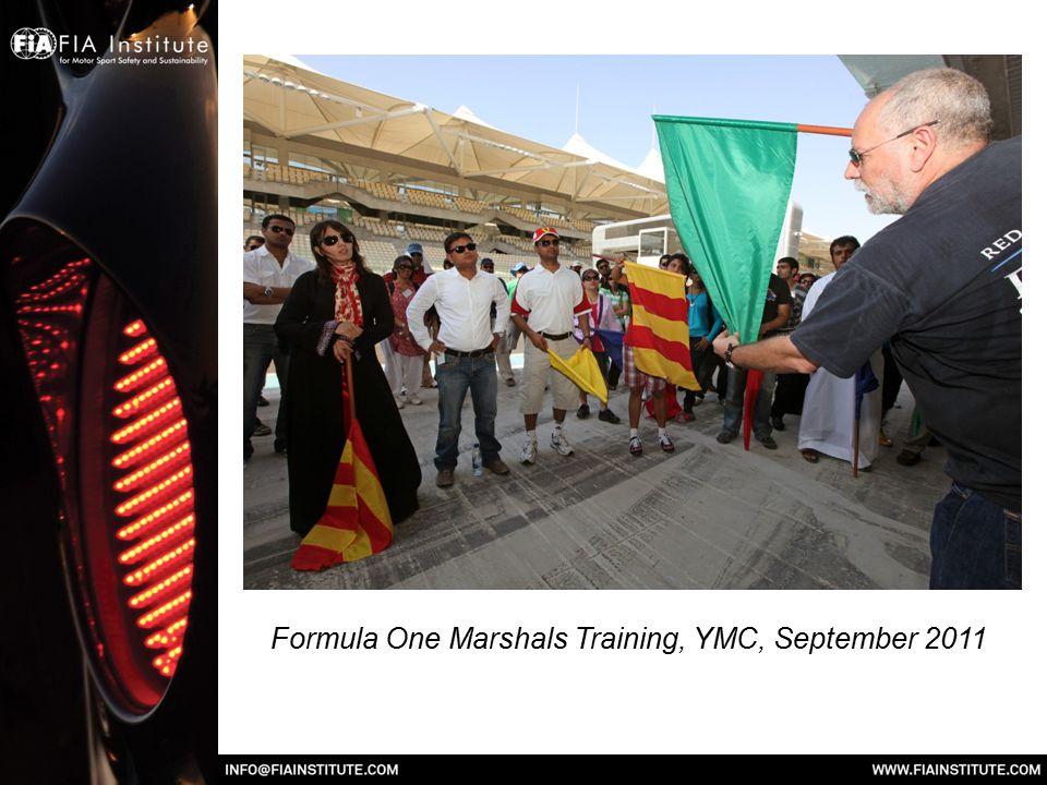 Formula One Marshals Training, YMC, September 2011