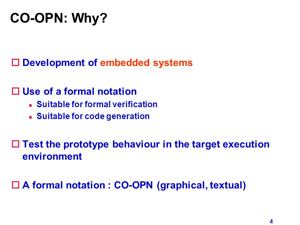 5 Synchronised Petri Nets Method Synchronisation move(t) with O2.put(t) put(r) O1O2 p1p2 t t1 t3 t2 r s processing Transition Objects
