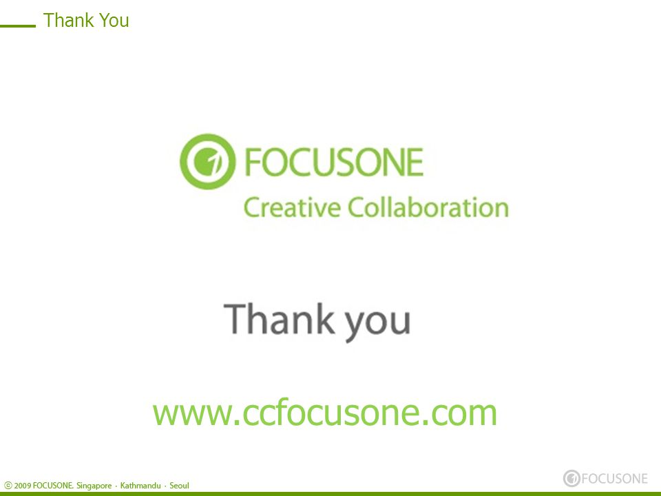 Thank You www.ccfocusone.com
